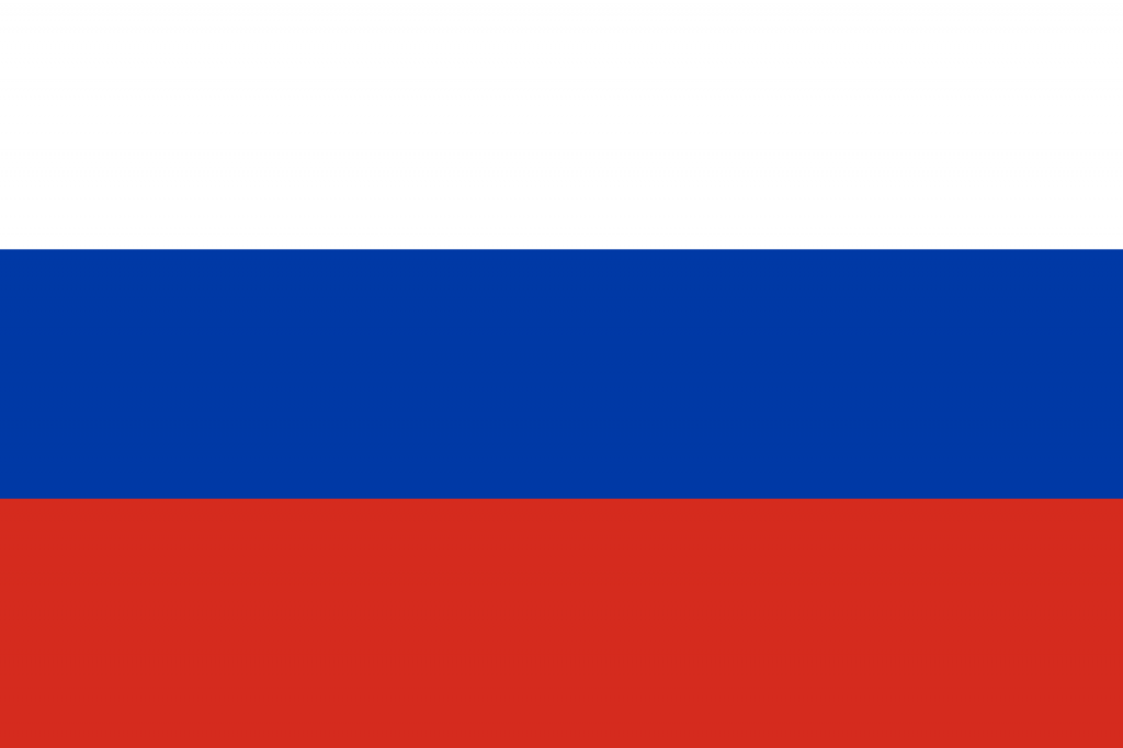 Знаме Русия