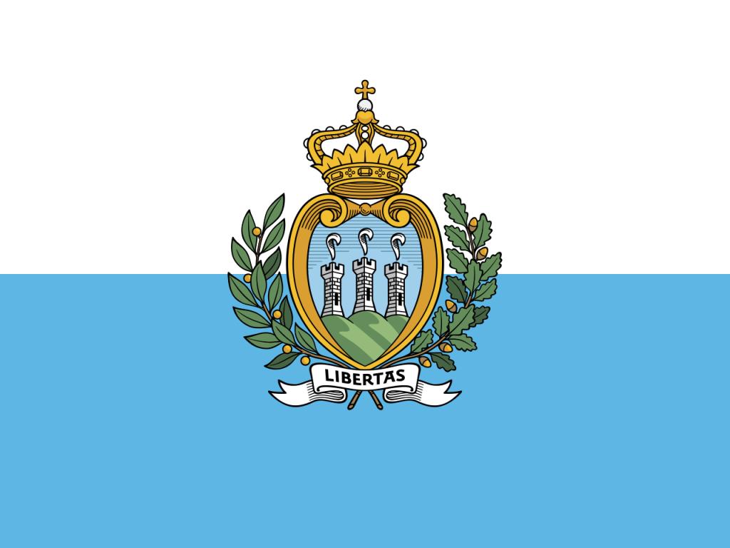 Знаме Сан Марино
