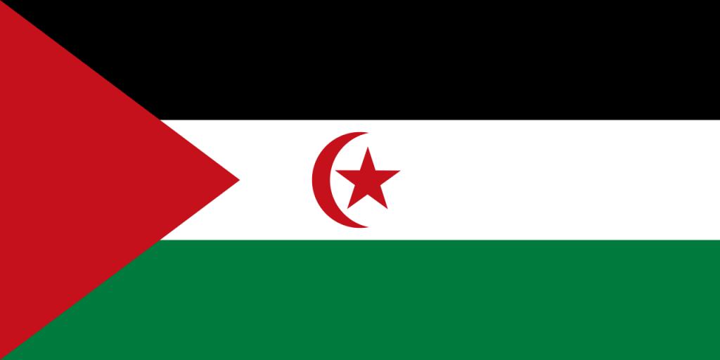 Знаме Сахарска арабска демократична република
