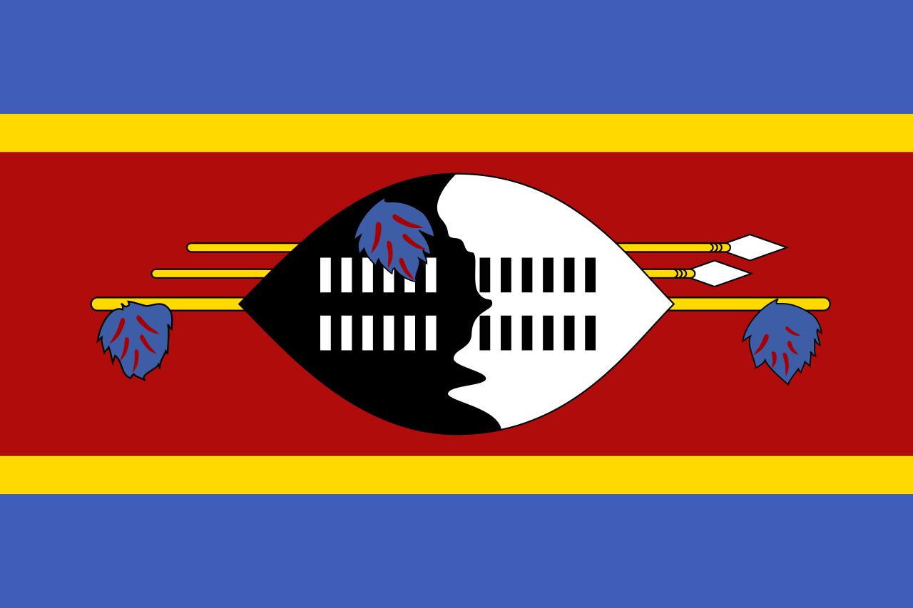 Знаме Свазиленд