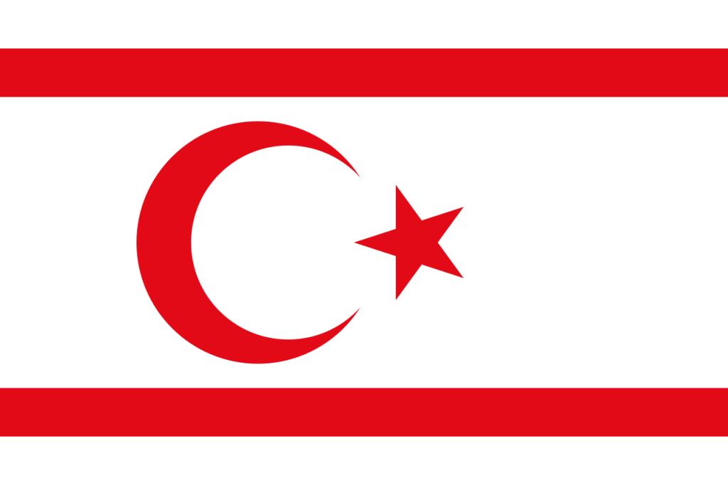 Знаме Северен Кипър