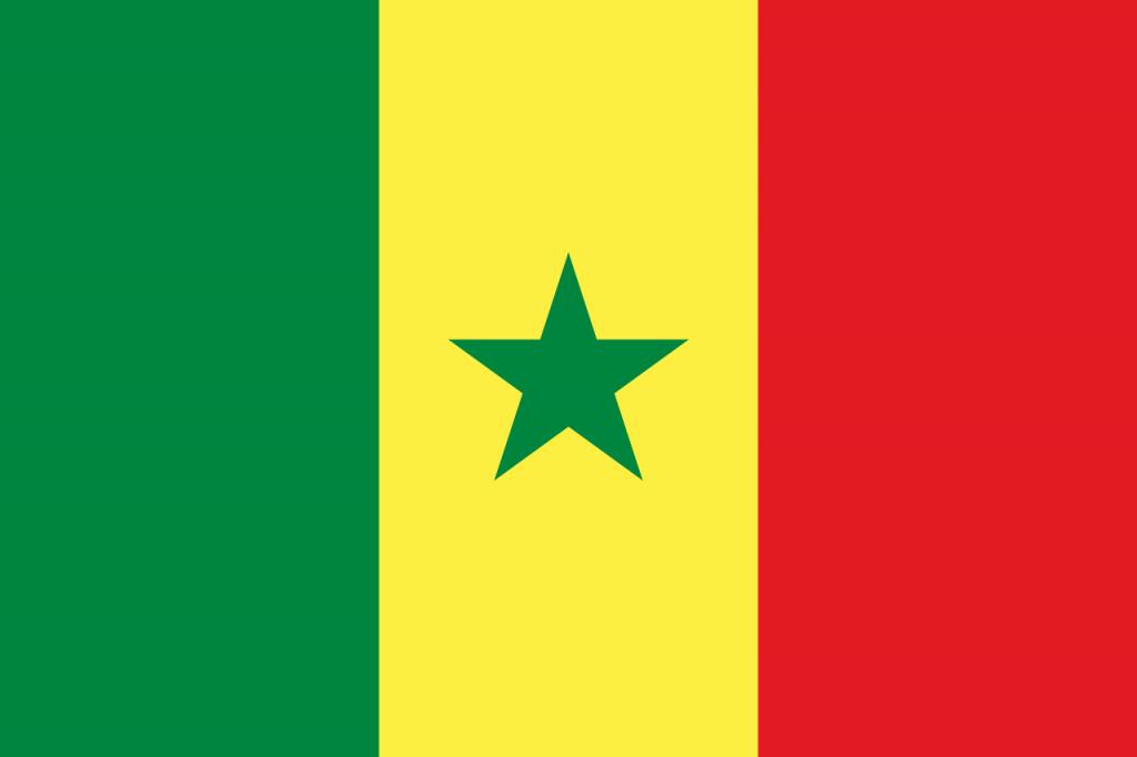 Знаме Сенегал