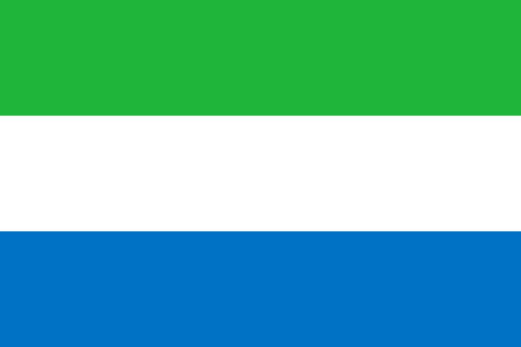 Знаме Сиера Леоне