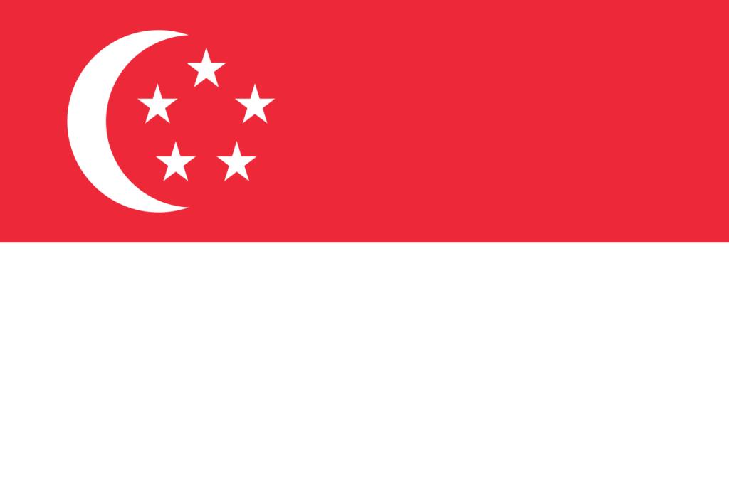 Знаме Сингапур