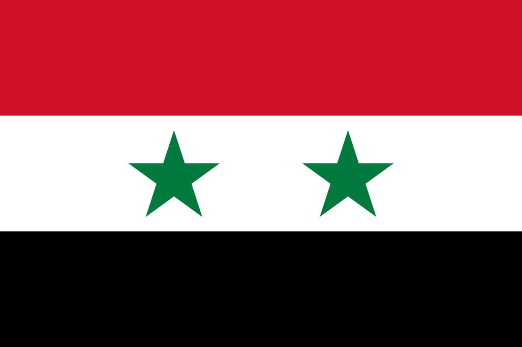 Знаме Сирия