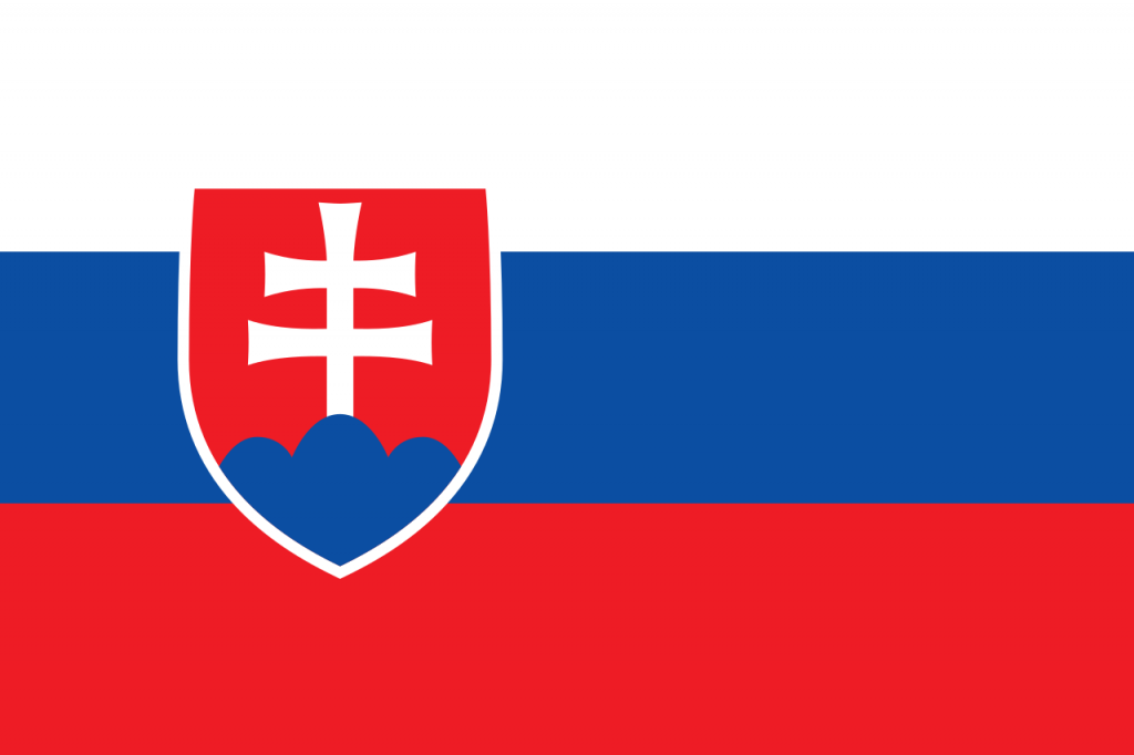 Знаме Словакия