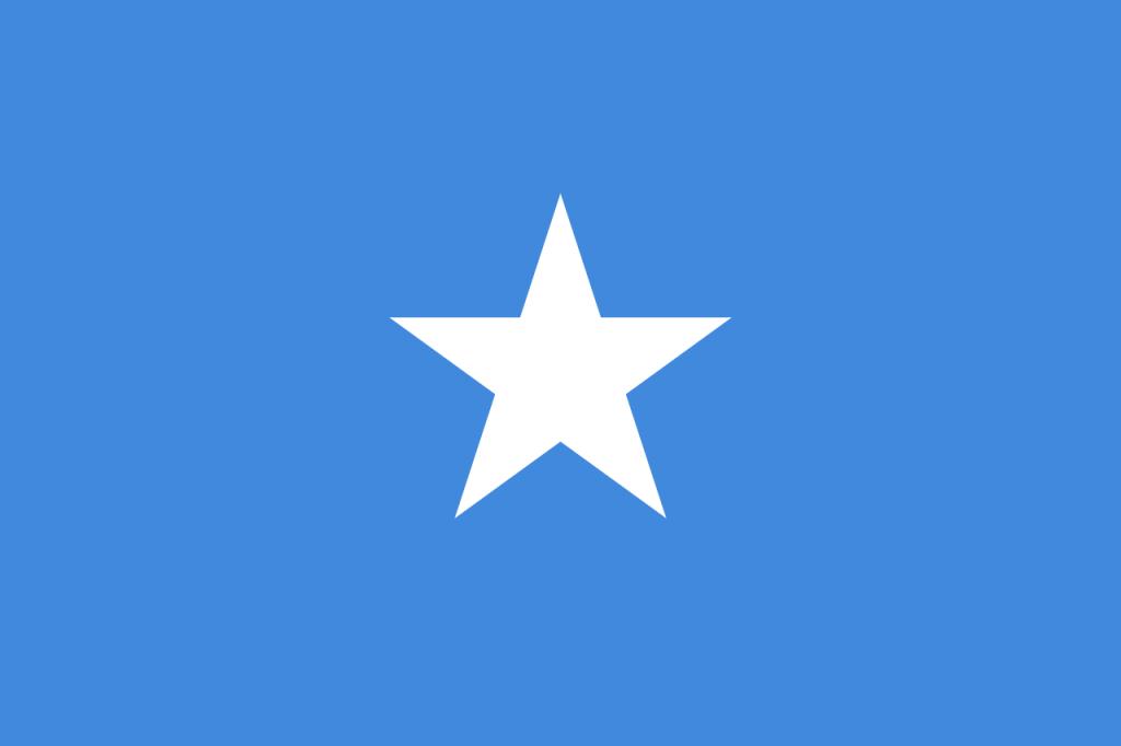 Знаме Сомалия