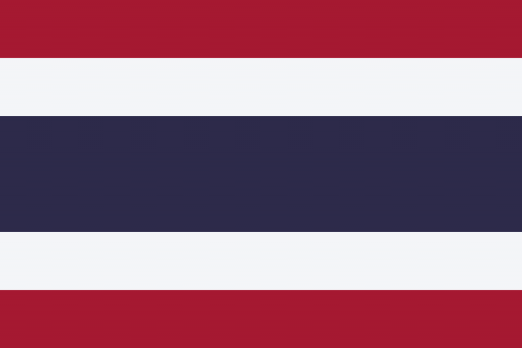 Знаме Тайланд