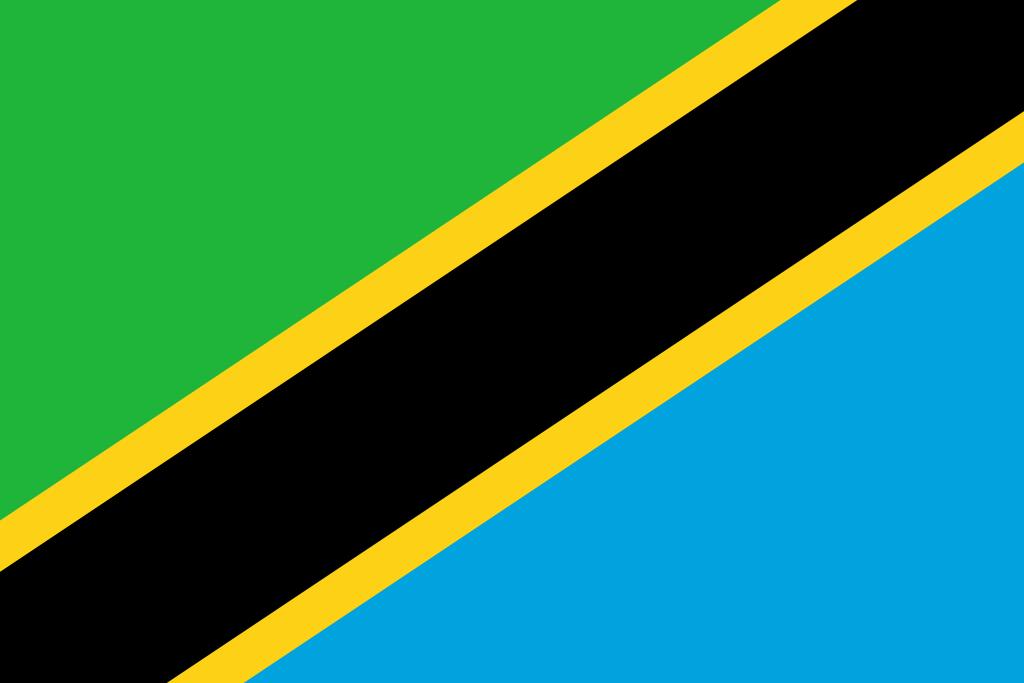Знаме Танзания