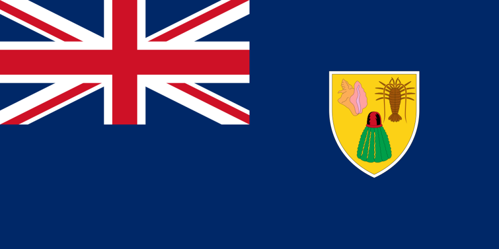 Знаме Острови Търкс и Кайкос
