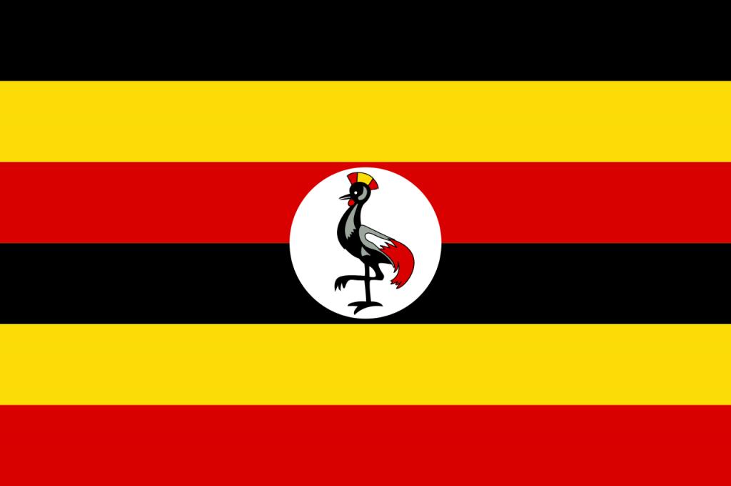 Знаме Уганда