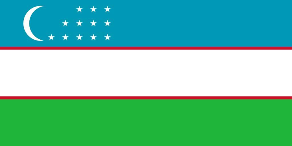 Знаме Узбекистан