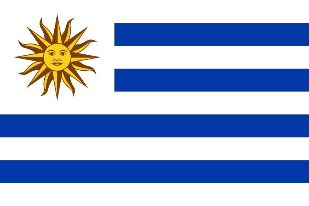 Знаме Уругвай
