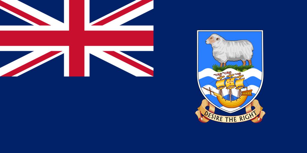 Знаме Фолклендски острови