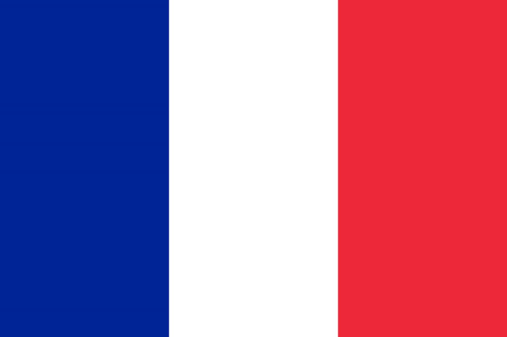 Знаме Франция