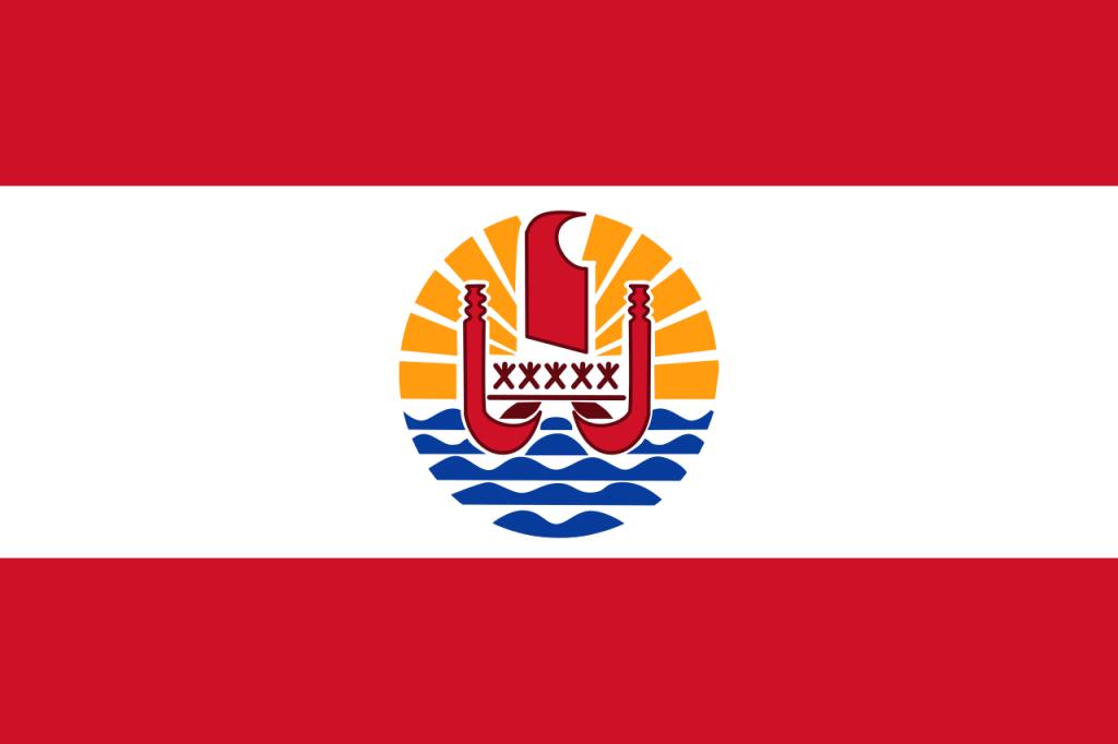 Знаме Френска Полинезия