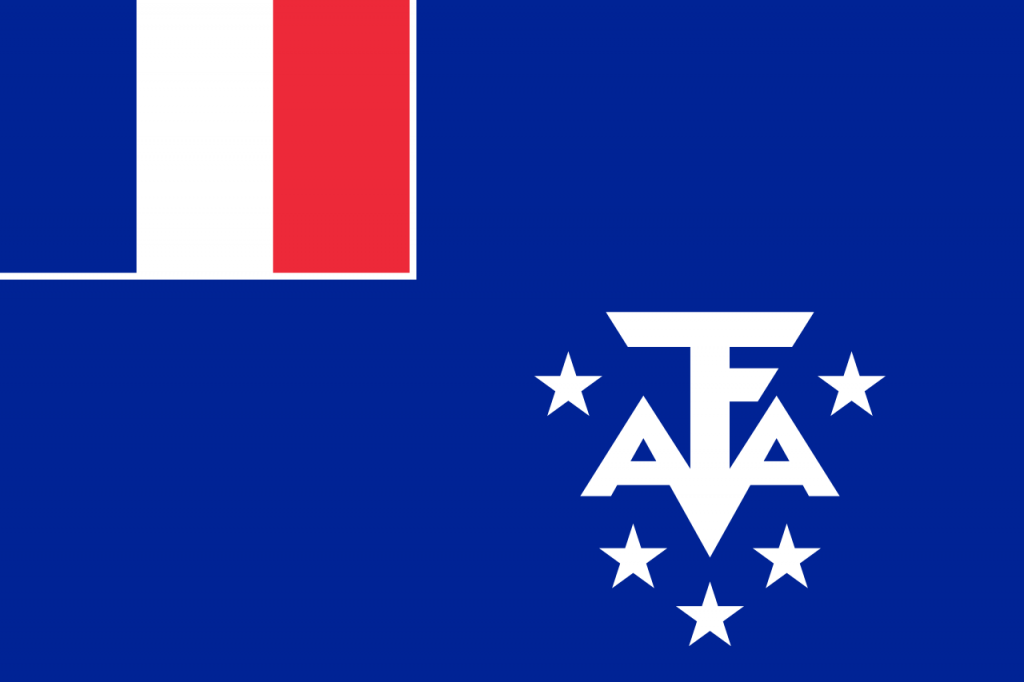 Знаме Френски южни и антарктически територии