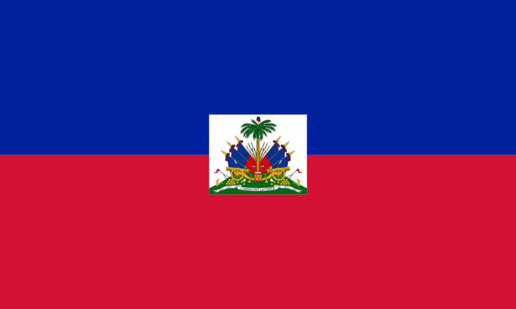 Знаме Хаити