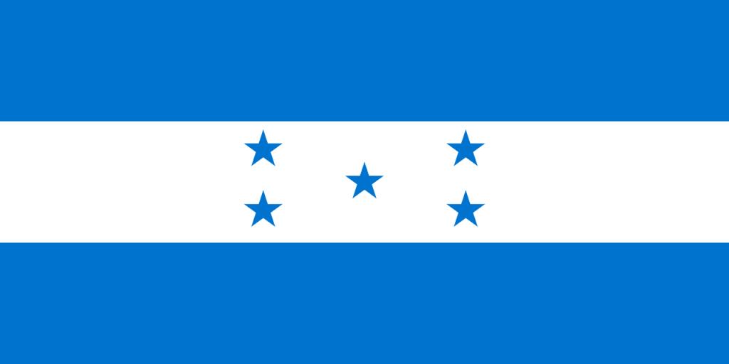 Знаме Хондурас