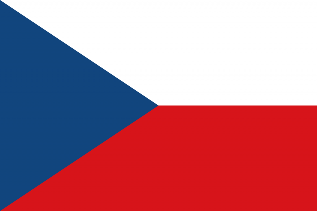 Знаме Чехия