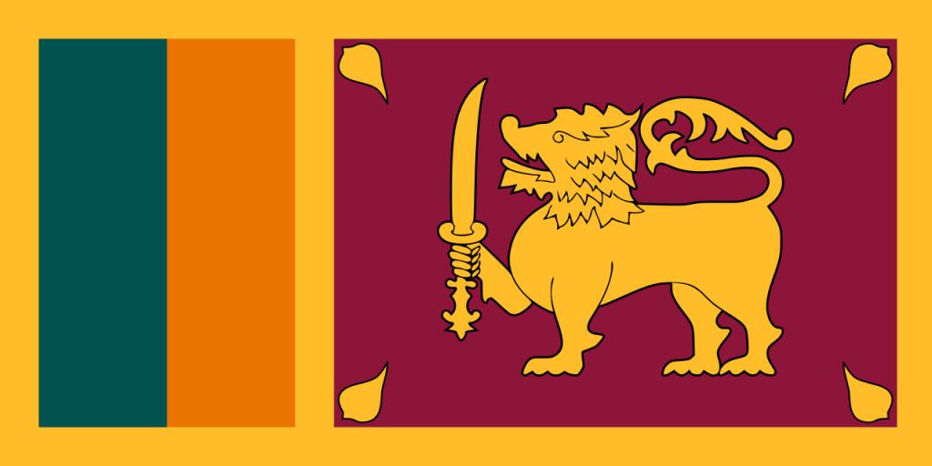 Знаме Шри Ланка