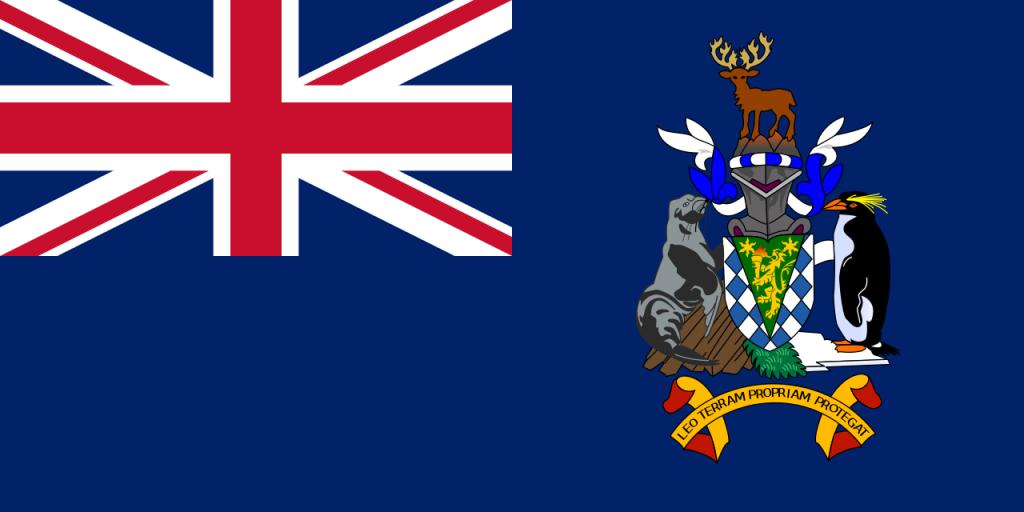 Знаме Южна Джорджия и Южни Сандвичеви острови