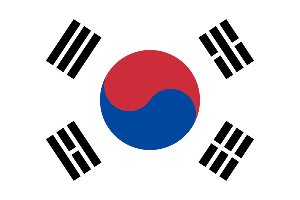 Знаме Южна Корея